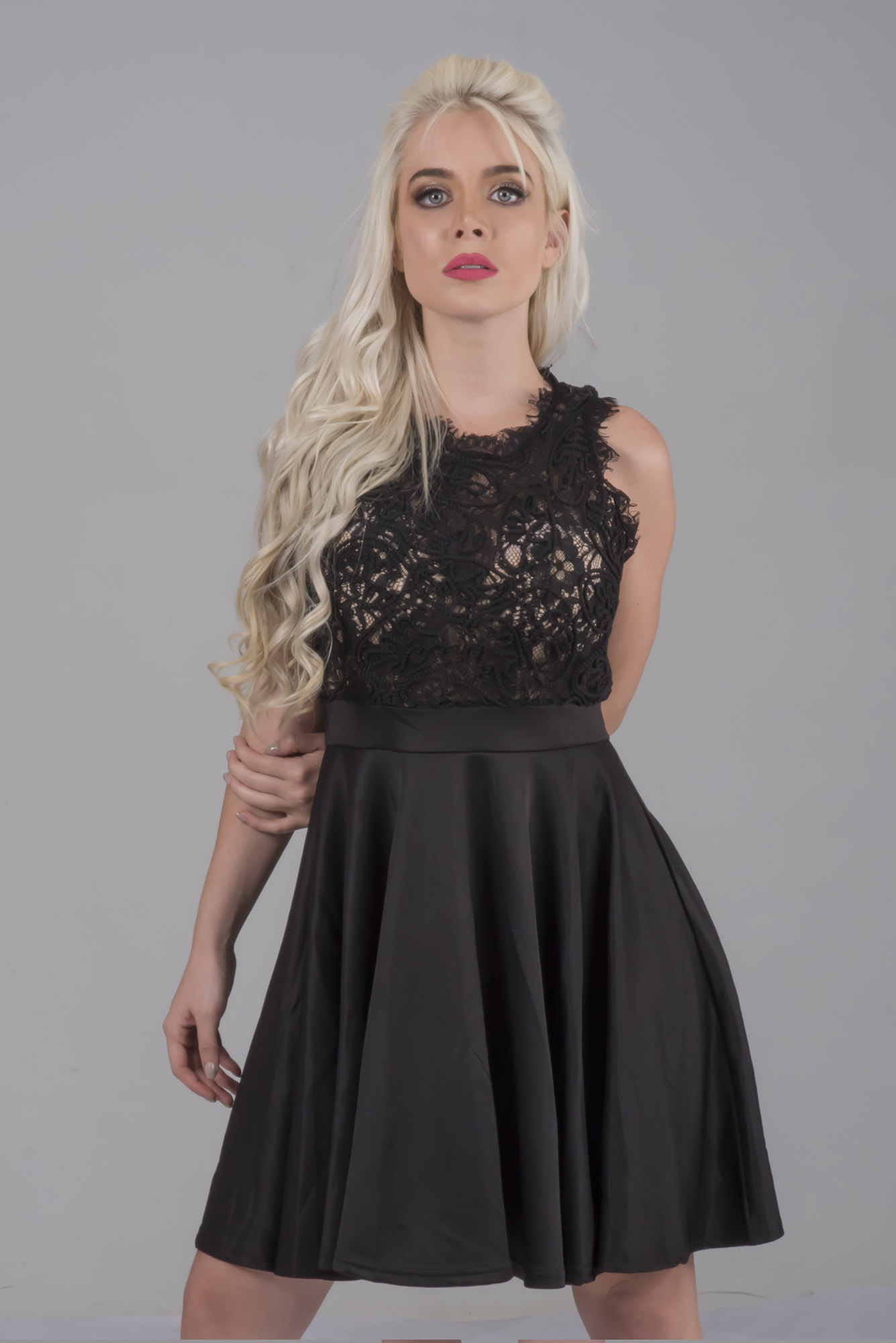 2019 year lifestyle- How to lace wear skater dress
