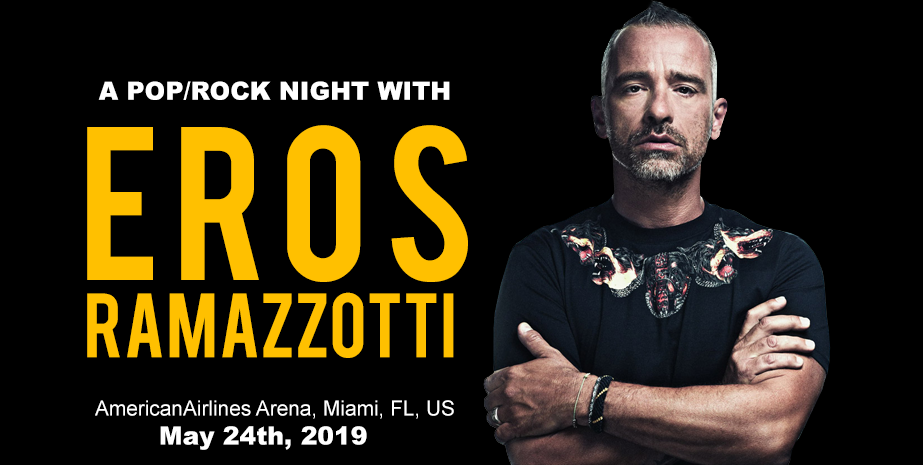 The Eros Rammazzotti's Concert Upcoming