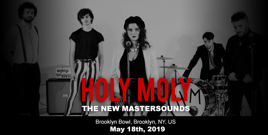 HOLY MOLY – THE NEW MASTERSOUNDS