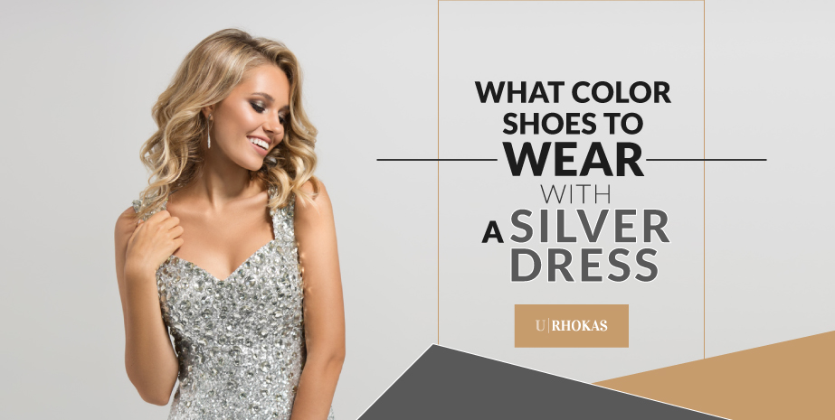 Choose the Perfect Color Shoes for Your Silver Dress